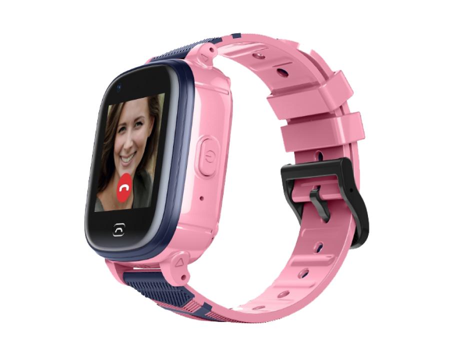Часы-телефон Jet Kid Vision 4G (розовые) Yota