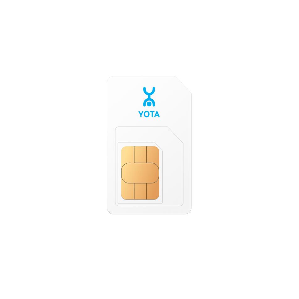 SIM-карта для модемов и ноутбуков Yota