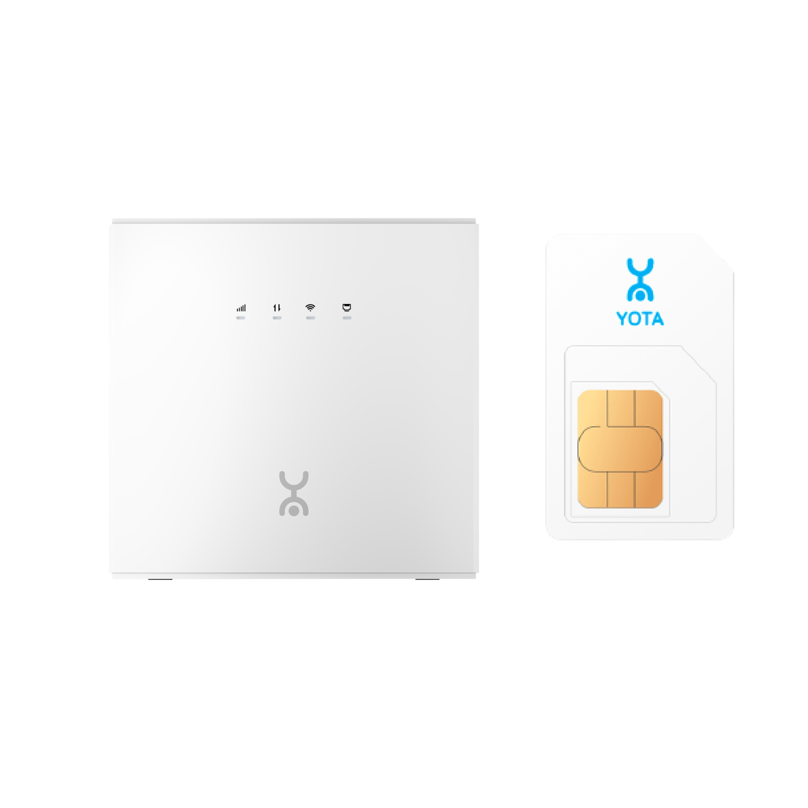 Роутер Yota для дома + SIM-карта